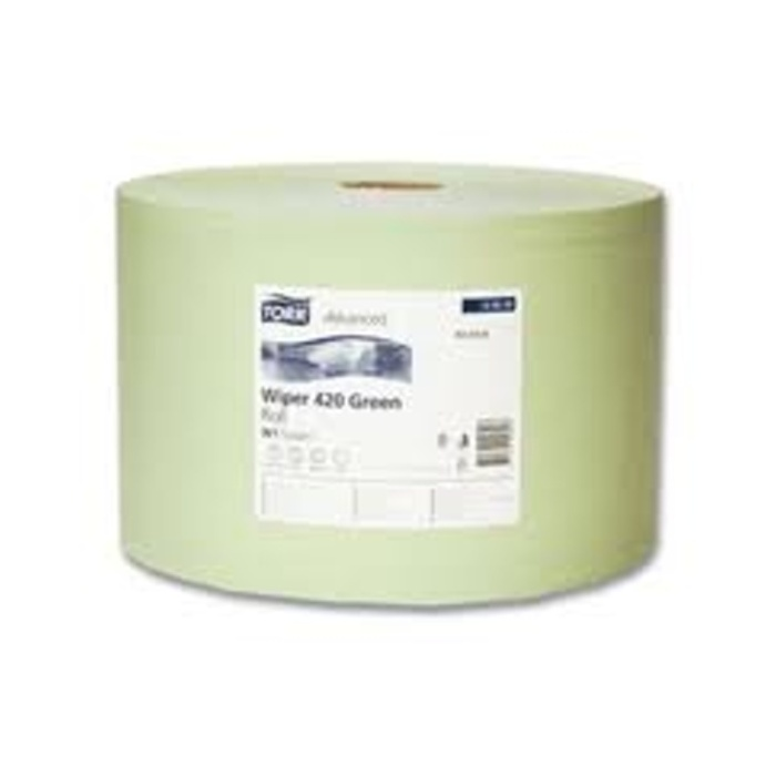 Tork Industrial Wiping Paper Green 129243