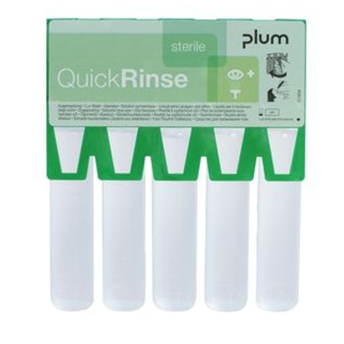 Quick Rinse mini očná sprcha 5 x 20 ml